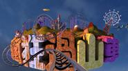 联合创意—3D立体影片疯狂的过山车